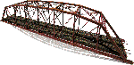 1900 dbl trk parker truss kit HO scale